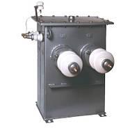 Маслянный однофазный силовой трансформатор ОМП для собственных нужд