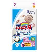 Подгузники на липучках для маловесных новорожденных 1,8-3,5 кг (размер SSS, унисекс, 36 шт) ТМ Goo. N 853519, фото 1
