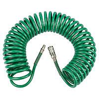 Шланг спиральный полиуретановый 10 м 6,5х10 мм Refine (7012171)