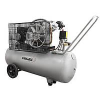 Компрессор ременной двухцилиндровый 2.5 кВт 396 л/мин 10 бар 100 л Sigma (7044151)