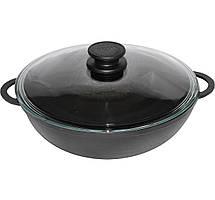 Сковорода чавунна WOK 26см 3 літра