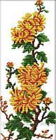Игра Вышивка Идейка (H071) Хризантемы