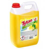 Универсальная жидкость для мытья Tytan(лимон), 5 кг