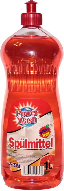 Средство для мытья посуды Power Wash (грейпфрут) 1л