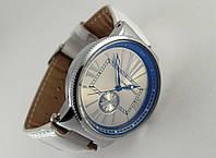 Женские часы - Ulysse Nardin - Le Locle на белом ремешке, цвет корпуса серебро, светлый циферблат