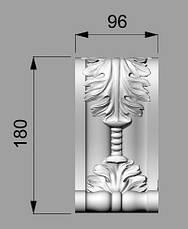 Кронштейн деревянный 4 - 96х180 мм, фото 2