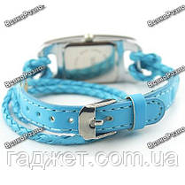 Стильные женские часы IEKE голубого цвета. Женские наручные часы., фото 3