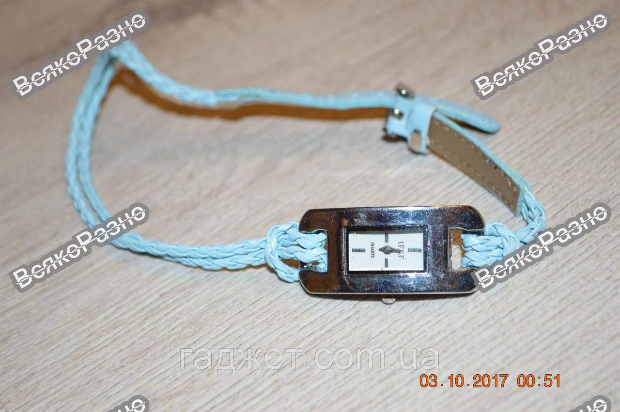 Стильные женские часы IEKE голубого цвета. Женские наручные часы.
