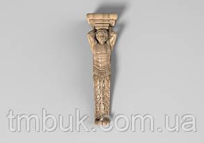 Кронштейн деревянный 7 - 80х300 мм, фото 2