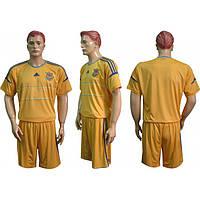 Форма футбольная Украина желтая