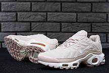 Кроссовки женские Найк Nike Air Max Plus TN light Pink. ТОП Реплика ААА класса., фото 3