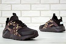 Кроссовки женские Найк  Nike Air Huarache Supreme Brown. ТОП Реплика ААА класса., фото 2