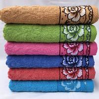 Полотенце баня . Махровое полотенце размер 70 см х140 см.