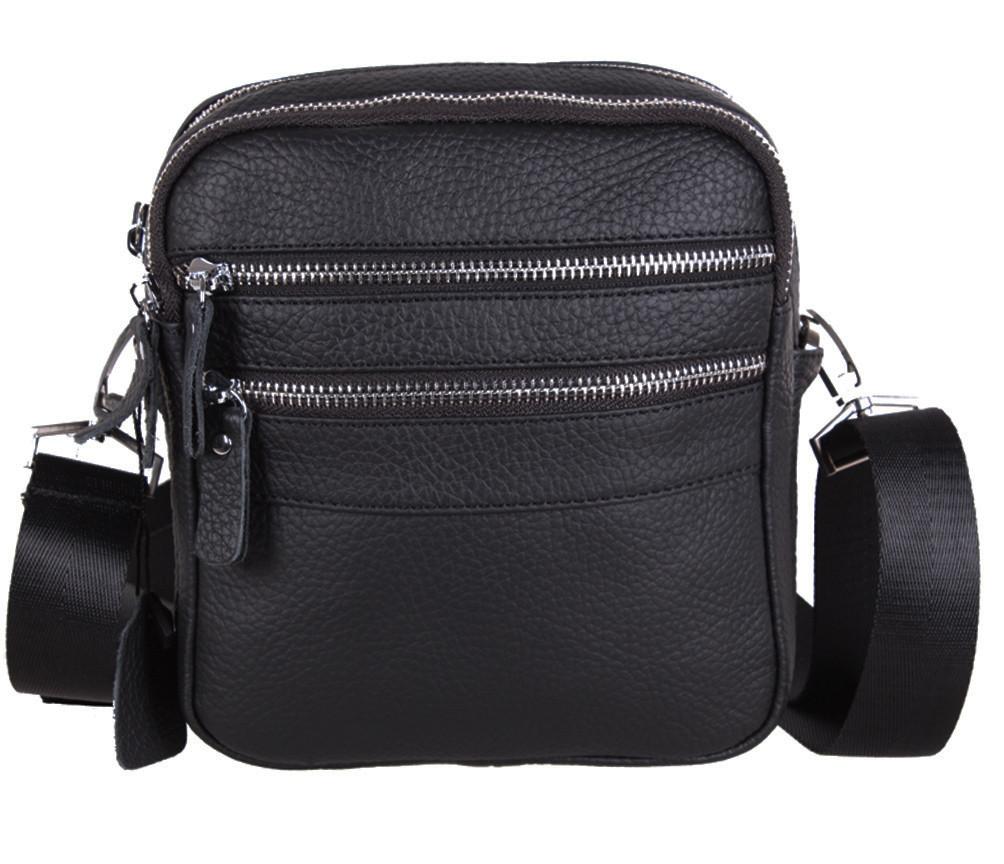 Мужская кожаная сумка через плечо T30128