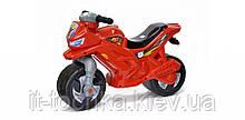Детский двухколесный мотоцикл Орион 501в.5_К красный с сигналом