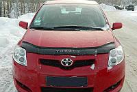 Дефлектор капота (мухобойка) Toyota Auris 2007-2009 Vip Tuning