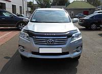 Дефлектор капота (мухобойка) Toyota RAV4 2009-2012 Vip Tuning