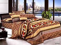 Полуторный набор постельного белья из Полисатина №010 Черешенка™