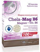 Хелат магния Альбиона, боярышник и витамины В1, В6, В12, фолиевая кислота Chela-Mag B6 Cardio (30 tab)