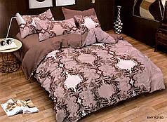 Полуторный набор постельного белья из Полисатина №012 Черешенка™