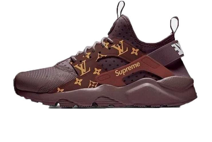 50f4b237 Женские кроссовки LV x Supreme x Nike Air Huarache Ultra - Интернет-магазин  обуви Parus