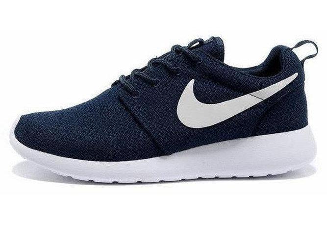 beadbbd334a0 Женские кроссовки Nike Roshe Run Dark Blue - купить по лучшей цене в ...
