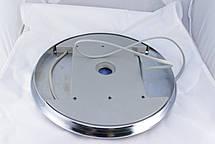 Лейка для душевой кабины, с подсветкой диаметром  250 мм. ( Л-250Л ) Шток с наружной резьбой., фото 3