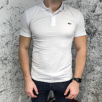 Lacoste Polo In Petit Pique White
