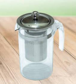 Стеклянный чайник Клаас с металлическим ситом и крышечкой, 500 мл