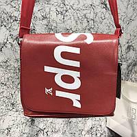 Messenger Louis Vuitton x Supreme District PM Epi Red