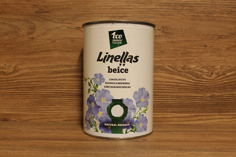 Морилка на основе льняного масла, Chocolate, Linellas Beice, 1 litre, Vincents Polyline