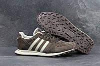 Мужские кроссовки Adidas Neo Коричневые