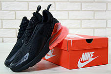 Кроссовки мужские Найк Nike Air Max 270 Black Red . ТОП Реплика ААА класса., фото 3