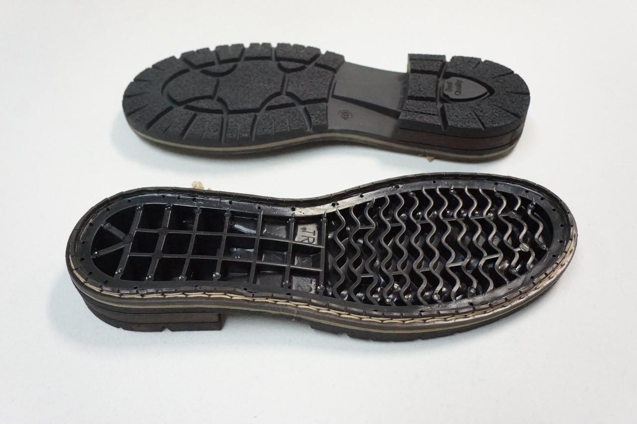 Подошва для обуви мужская 5372  р. 40-41 чер.