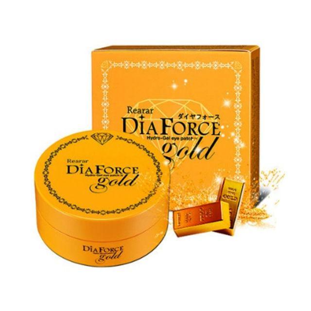 Гидрогелевые патчи для кожи под глазами Rearar Dia Force Hydro Gel Eye Patch Gold(Medium size),60 шт
