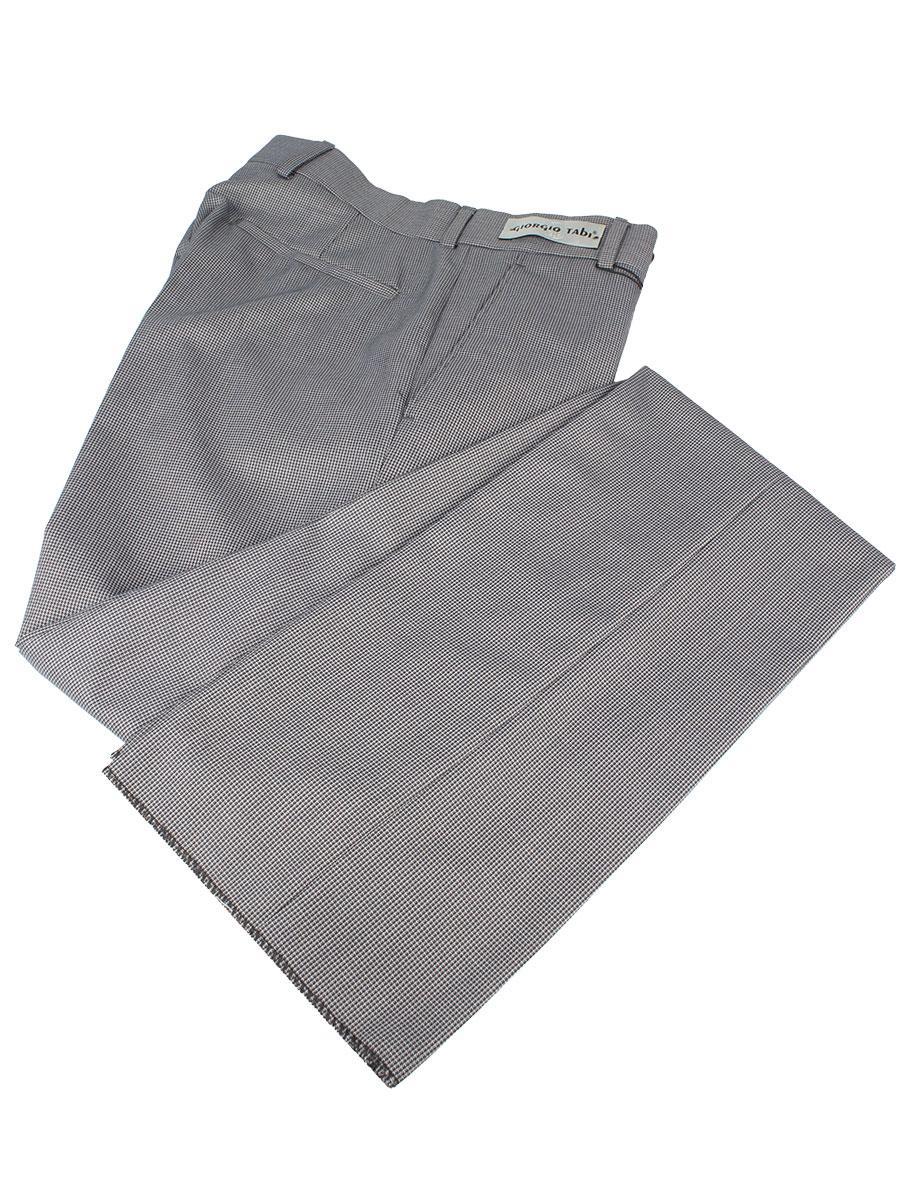 Класичні в дрібну клітку чоловічі брюки Giorgio Tabi 0600 grey cell