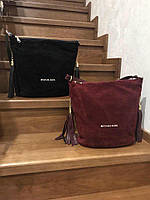 Замшевая сумка 168-1109 (ЮЛ)