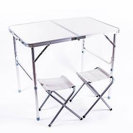 Стол туристический складной и 2 стула HX-960