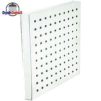 Лейка квадратная, потолочная 180 мм. х 180 мм. ( L-180 ) Хромированная, с съемным штоком.