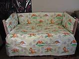 Защита и комплект постели в детскую кроватку, фото 2