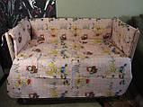 Защита и комплект постели в детскую кроватку, фото 3