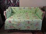 Защита и комплект постели в детскую кроватку, фото 4