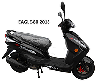 Скутер Eagle-80 Черный, фото 1