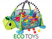 Детский развивающий коврик Черепаха марки ECOTOYS , фото 1