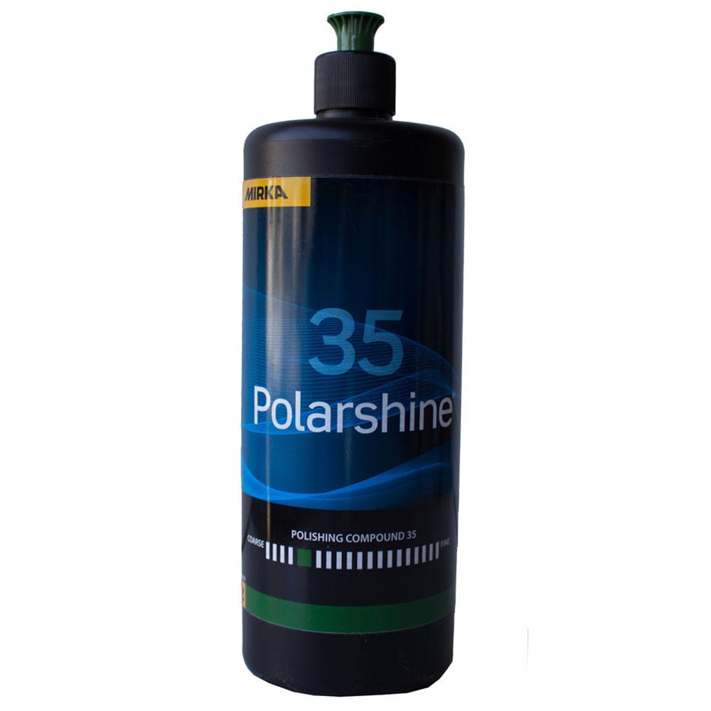 Полировальная паста абразивная - Mirka Polarshine 35 1 л. (7992810111)
