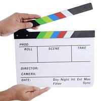Режиссерская хлопушка, нумератор, кинохлопушка