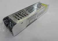 Блок питания 12V 5A 60W   12В 5А 60Вт узкий