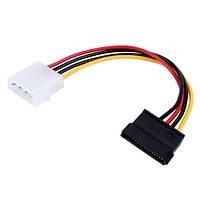 Переходник IDE Molex - Sata 15pin для питания жесткого диска