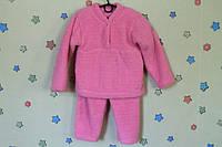 Детская теплая пижама для девочки материал травка р.22,24,26,28,30,32,34,36,38