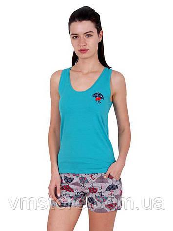 Комплект Майка+шорты (ростовка - 4 шт.) 80778, фото 2